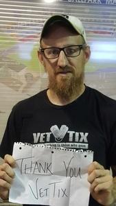 Patrick attended Nitro Circus Live on Aug 6th 2017 via VetTix