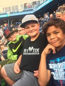 Jeffrey attended Nitro Circus Live on Aug 6th 2017 via VetTix