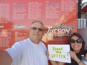 Dave attended Tucson Speedway - Chain N Go Enduro on Jun 17th 2017 via VetTix