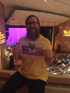 ROB attended An Evening With Rodgers and Hammerstein - Saturday Evening on May 20th 2017 via VetTix