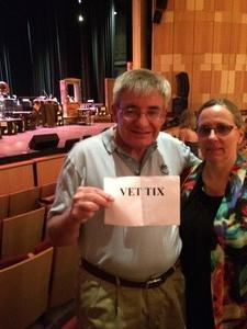 Robert attended An Evening With Rodgers and Hammerstein - Saturday Evening on May 20th 2017 via VetTix