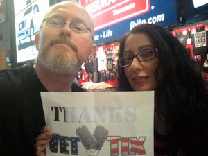 Terry attended The Total Package Tour - NKOTB With Paula Abdul and Boyz II Men on May 17th 2017 via VetTix