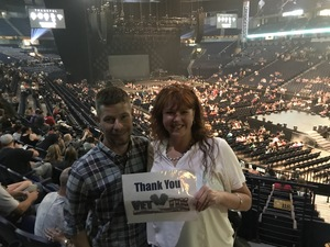 Janet attended The Total Package Tour - NKOTB With Paula Abdul and Boyz II Men on May 17th 2017 via VetTix