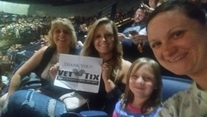 Rachel attended The Total Package Tour - NKOTB With Paula Abdul and Boyz II Men on May 17th 2017 via VetTix