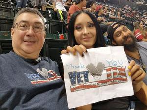 M.Hernandez attended Arizona Diamondbacks vs. Milwaukee Brewers - MLB on Jun 10th 2017 via VetTix