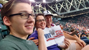 Michael attended Arizona Diamondbacks vs. Milwaukee Brewers - MLB on Jun 10th 2017 via VetTix
