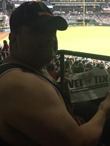 Anthony attended Arizona Diamondbacks vs. Milwaukee Brewers - MLB on Jun 10th 2017 via VetTix