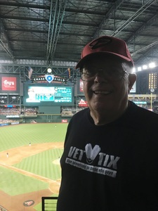 Glenn attended Arizona Diamondbacks vs. Philadelphia Phillies - MLB on Jun 24th 2017 via VetTix
