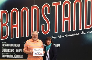Alan attended Bandstand - the New American Musical on May 24th 2017 via VetTix