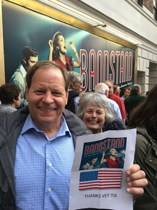 Eugene attended Bandstand - the New American Musical on May 24th 2017 via VetTix