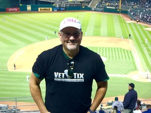 Byron attended Oakland Athletics vs. New York Yankees - MLB on Jun 15th 2017 via VetTix