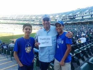 Ray attended Oakland Athletics vs. New York Yankees - MLB on Jun 15th 2017 via VetTix