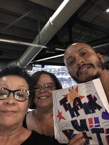 Sabrina attended Arizona Diamondbacks vs. Cincinnati Reds - MLB on Jul 8th 2017 via VetTix