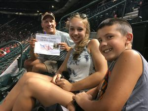 John attended Arizona Diamondbacks vs. Cincinnati Reds - MLB on Jul 8th 2017 via VetTix