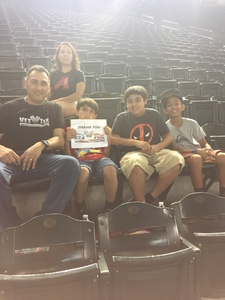 Abelardo attended Arizona Diamondbacks vs. Cincinnati Reds - MLB on Jul 8th 2017 via VetTix