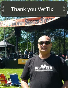 Antonio attended Rockland Music Festival - Saturday on Jun 24th 2017 via VetTix