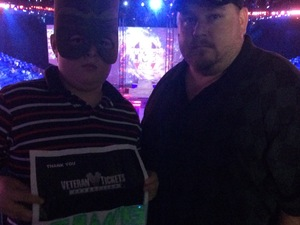Thomas attended Marvel Universe Live! Age of Heroes - Tickets Good for Friday 6/23 Only on Jun 23rd 2017 via VetTix
