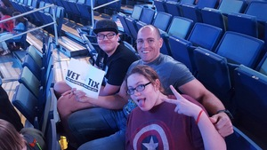 Damian attended Marvel Universe Live! Age of Heroes - Tickets Good for Friday 6/23 Only on Jun 23rd 2017 via VetTix