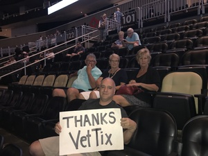 Nathan attended Daryl Hall and John Oats With Tears for Fears Tour on Jun 13th 2017 via VetTix