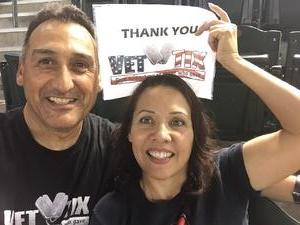 Abelardo attended Arizona Diamondbacks vs. Cincinnati Reds - MLB on Jul 9th 2017 via VetTix