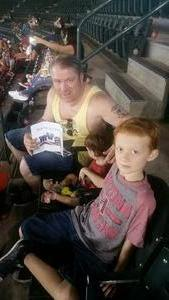 Chris attended Arizona Diamondbacks vs. Cincinnati Reds - MLB on Jul 9th 2017 via VetTix