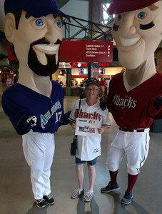 Kristina attended Arizona Diamondbacks vs. Cincinnati Reds - MLB on Jul 9th 2017 via VetTix