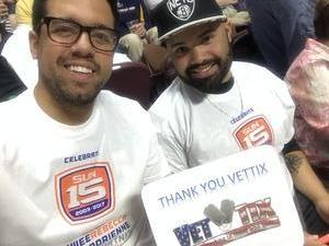 Umberto attended Connecticut Sun vs. Seattle Storm - WNBA - Basketball on Jun 29th 2017 via VetTix