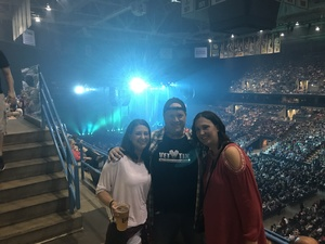 Karl attended Tim McGraw and Faith Hill: Soul2Soul the World Tour 2017 on Jun 16th 2017 via VetTix