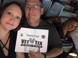 Mike attended Tim McGraw and Faith Hill: Soul2Soul the World Tour 2017 on Jun 16th 2017 via VetTix