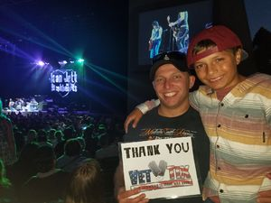 Chris attended Boston With Joan Jett and the Black Hearts - Hyper Space Tour - Reserved Seats on Jun 18th 2017 via VetTix