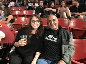 Julio attended Boston With Joan Jett and the Black Hearts - Hyper Space Tour on Jun 16th 2017 via VetTix