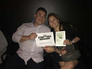Pablo attended The Wizard of Oz - Friday on Jun 9th 2017 via VetTix