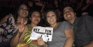 Juan attended Enrique Iglesias and Pitbull Live at the Pepsi Center on Jun 6th 2017 via VetTix