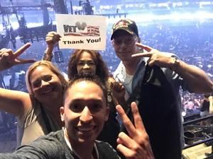 Peter attended Enrique Iglesias and Pitbull Live at the Pepsi Center on Jun 6th 2017 via VetTix