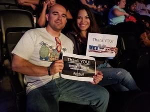 Jordan attended Enrique Iglesias and Pitbull Live at the Pepsi Center on Jun 6th 2017 via VetTix