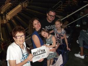 Marilynn attended Arizona Rattlers vs. Cedar Rapids Titans - IFL on Jun 11th 2017 via VetTix