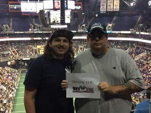 Gilbert attended Arizona Rattlers vs. Cedar Rapids Titans - IFL on Jun 11th 2017 via VetTix