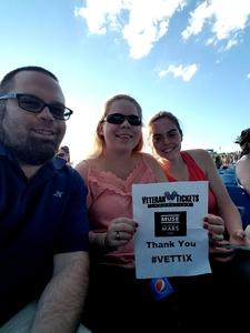 James attended Muse With Special Guests Thirty Seconds to Mars on Jun 13th 2017 via VetTix