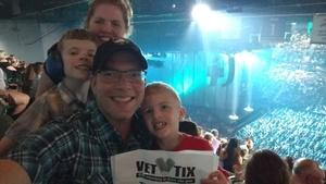 Isaac attended Tim McGraw & Faith Hill: Soul2Soul the World Tour 2017 on Jun 17th 2017 via VetTix
