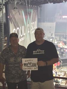 William attended Tim McGraw & Faith Hill: Soul2Soul the World Tour 2017 on Jun 17th 2017 via VetTix