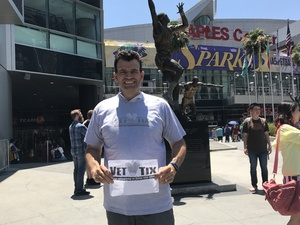 Todd attended Los Angeles Sparks vs. Phoenix Mercury - WNBA - Armed Services Day! on Jun 18th 2017 via VetTix