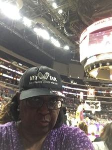 Denise attended Los Angeles Sparks vs. Phoenix Mercury - WNBA - Armed Services Day! on Jun 18th 2017 via VetTix