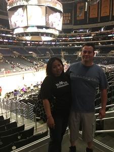 Michelle attended Los Angeles Sparks vs. Phoenix Mercury - WNBA - Armed Services Day! on Jun 18th 2017 via VetTix
