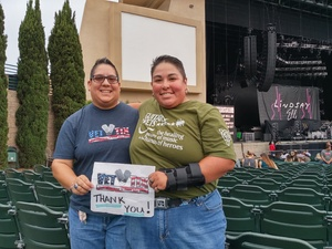 Denise attended Brad Paisley With Special Guest Dustin Lynch, Chase Bryant, and Lindsay Ell - Reserved Seats on Jun 23rd 2017 via VetTix