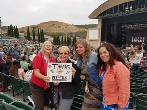 diana attended Brad Paisley With Special Guest Dustin Lynch, Chase Bryant, and Lindsay Ell - Reserved Seats on Jun 23rd 2017 via VetTix