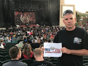 Steven attended Korn With Special Guest Stone Sour - the Serenity of Summer - Reserved on Jun 20th 2017 via VetTix