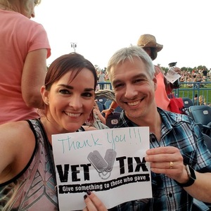 Kelly attended Lady Antebellum You Look Good World Tour With Special Guest Kelsea Ballerini, and Brett Young - Reserved Seats on Jun 15th 2017 via VetTix
