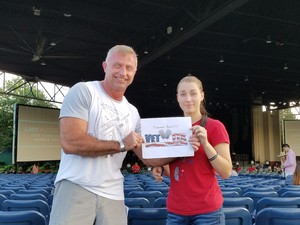 James attended Lady Antebellum You Look Good World Tour With Special Guest Kelsea Ballerini, and Brett Young - Reserved Seats on Jun 15th 2017 via VetTix