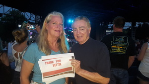 Christopher attended Lady Antebellum You Look Good World Tour With Special Guest Kelsea Ballerini, and Brett Young - Reserved Seats on Jun 15th 2017 via VetTix