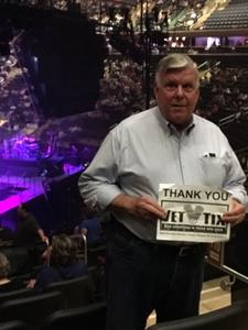 Russell attended Neil Diamond - the 50 Year Anniversary World Tour on Jun 15th 2017 via VetTix